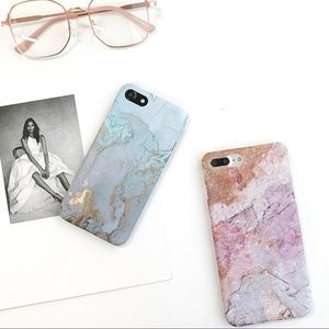 Accessories - NEW iPhone X/7/8/7+/8+ Luxury Marble Case